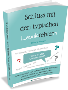 Schluss mit den typischen Lexikfehlern Buch Deutsch lernen