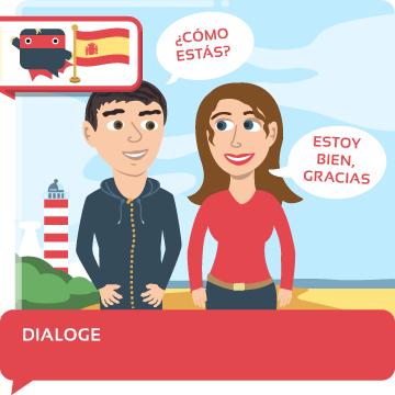 Spanischschule-Dialoge-Texte-Vokabeln