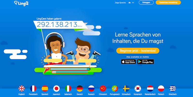 LingQ-Test-Erfahrungen-App-Sprachen-lernen