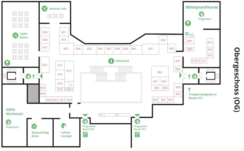 Expolingua Berlin 2018 Standplan