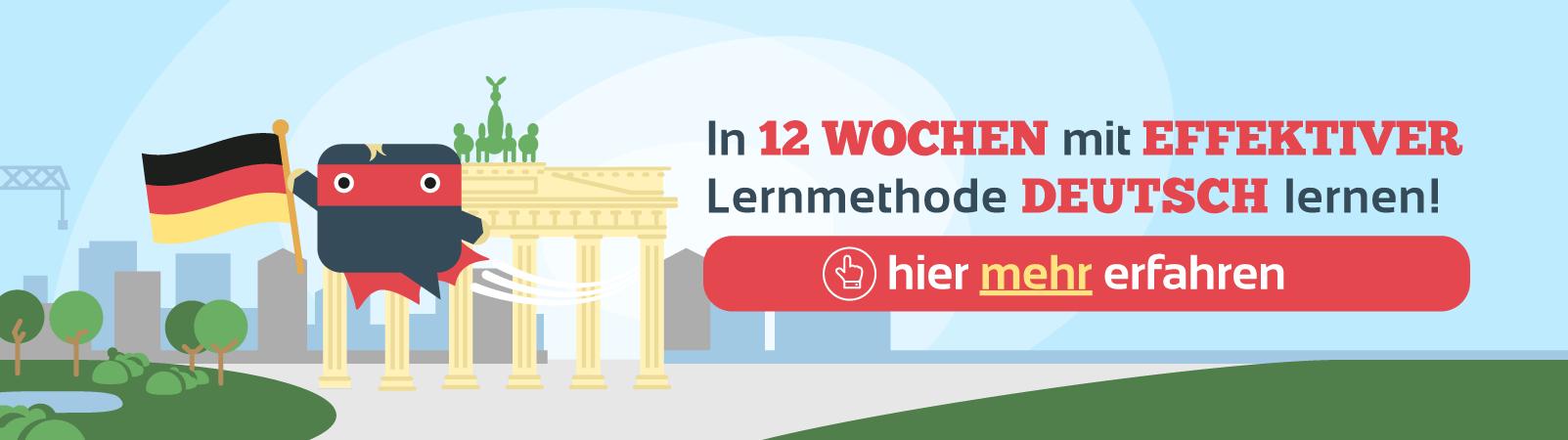 Deutsch lernen Challenge Sprachheld