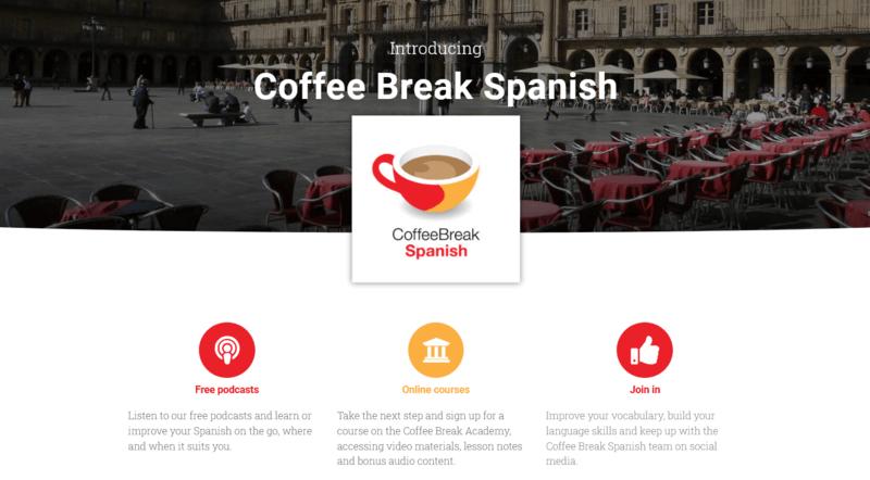Coffee Break Spanish Podcast Spanisch lernen