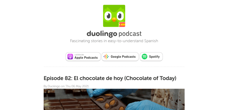Duolingo Spanisch-Podcast Podcast Spanisch lernen
