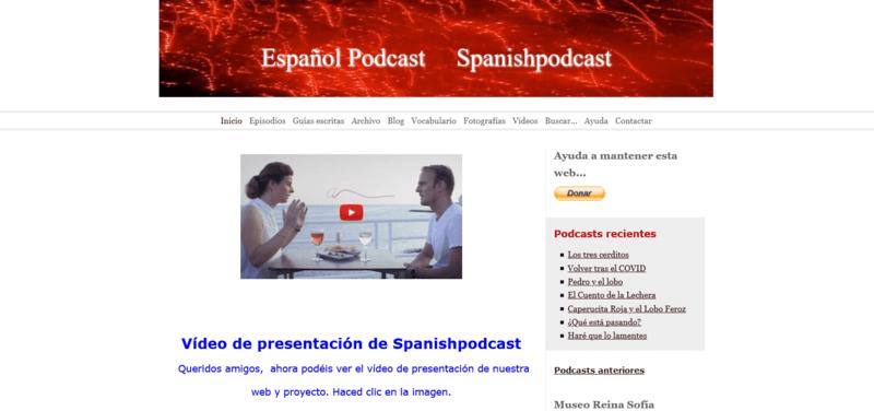 Español Podcast Spanishpodcast Podcast Spanisch lernen