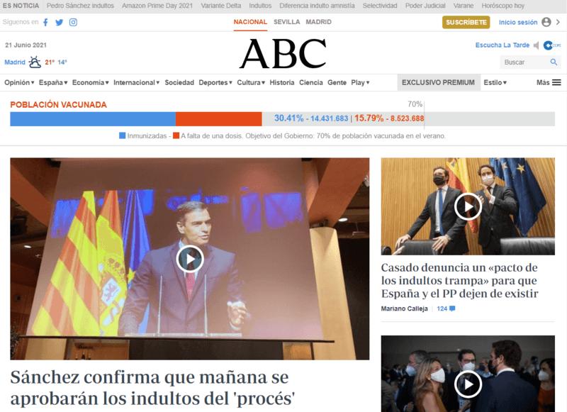 ABC Spanische Zeitung