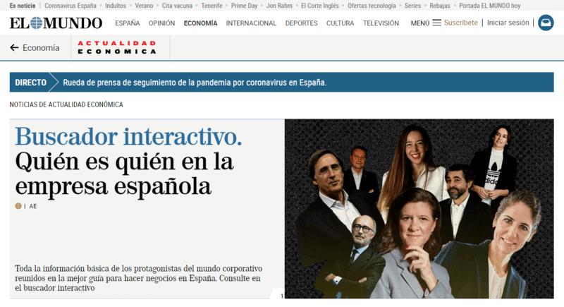 Actualidad Económica Spanische Zeitung