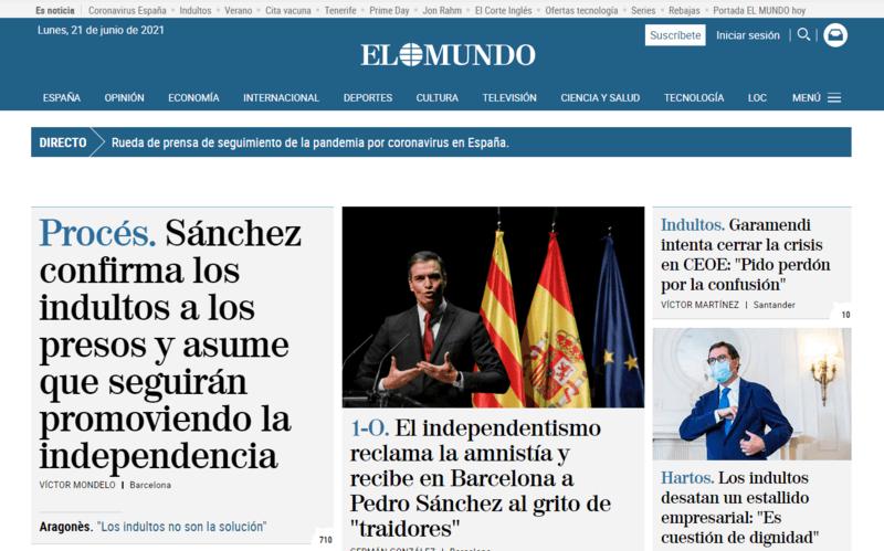 El Mundo Spanische Zeitung