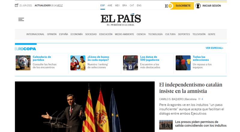 El Pais Spanische Zeitung