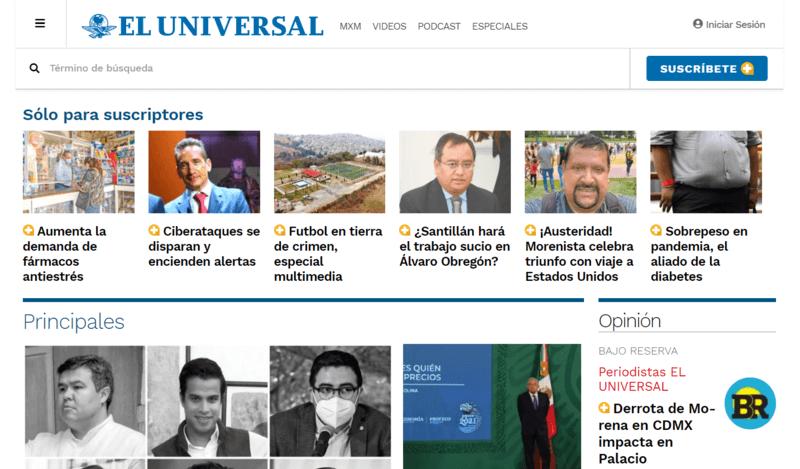 El Universal Spanische Zeitung