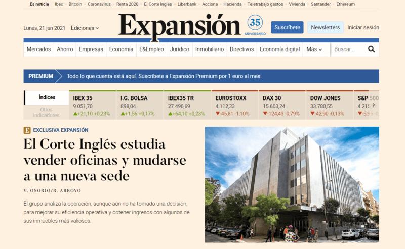 Expansión Spanische Zeitung