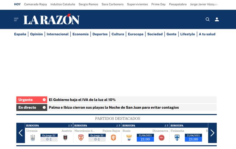 La Razón Spanische Zeitung