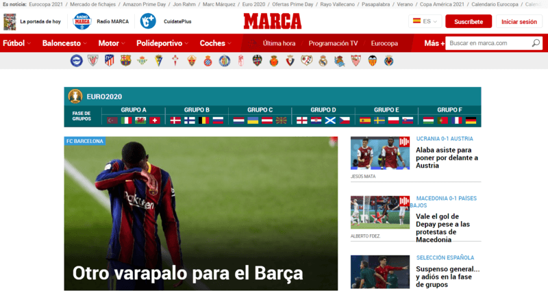 Marca Spanische Zeitung