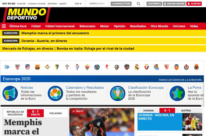 Mundo Deportivo Spanische Zeitung