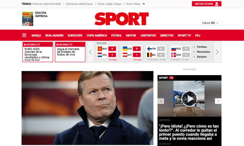Sport Spanische Zeitung