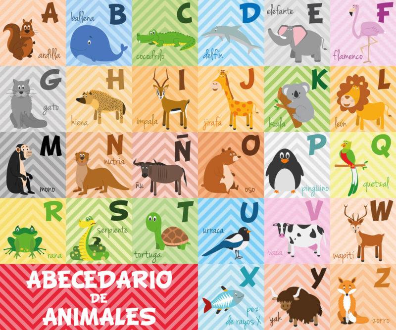 Alphabet Spanien