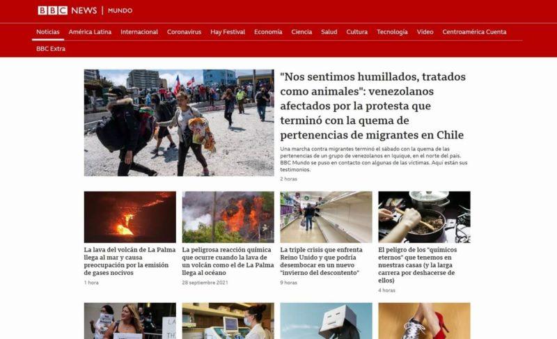 BBC Mundo Spanische Zeitung
