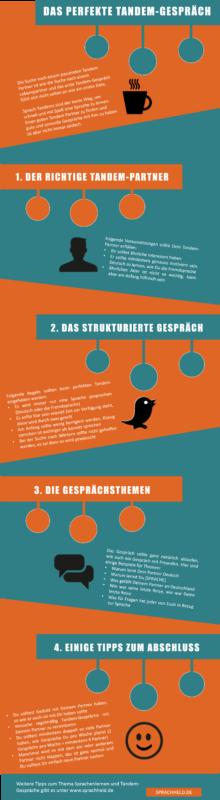 Das perfekte Tandemgespräch in 8 Schritten