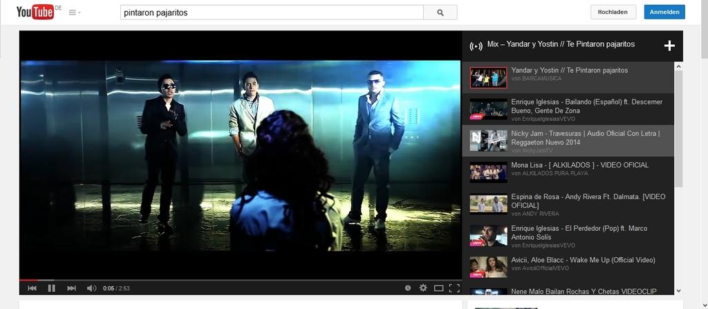 Lernen mit Musik: YouTube